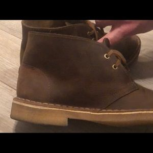 Clark's Brown Desert Boot - Men's 7